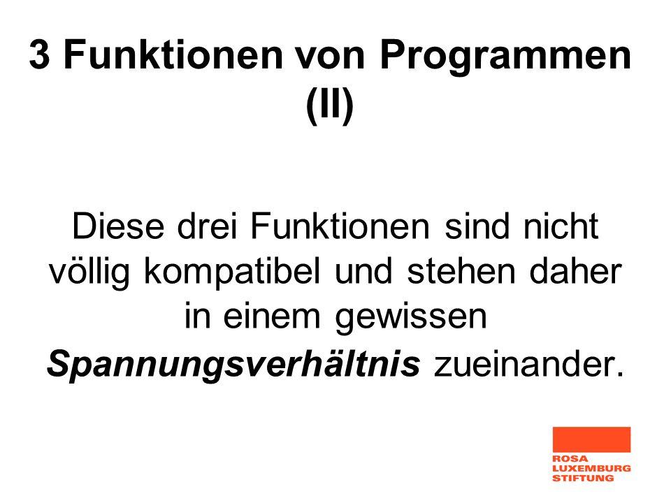 3 Funktionen von Programmen (II)
