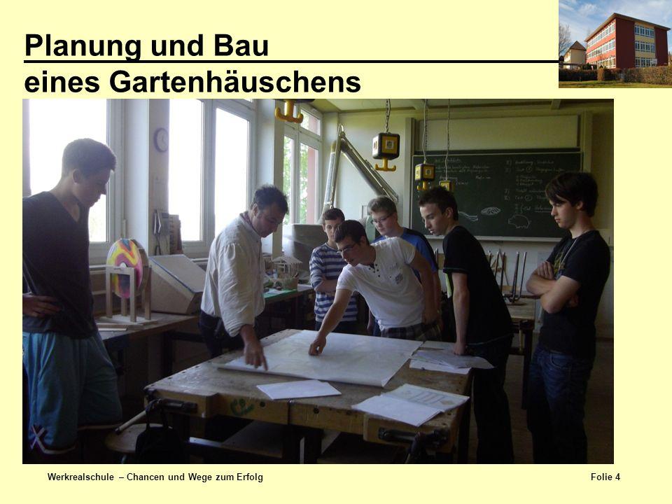 Planung und Bau eines Gartenhäuschens