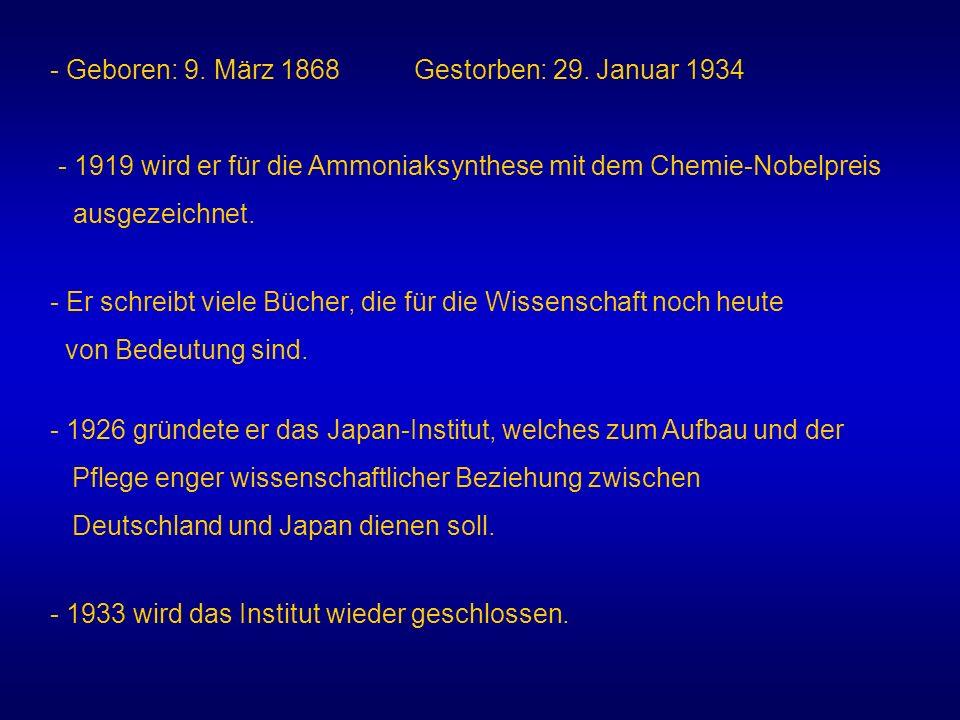 - Geboren: 9. März 1868 Gestorben: 29. Januar 1934