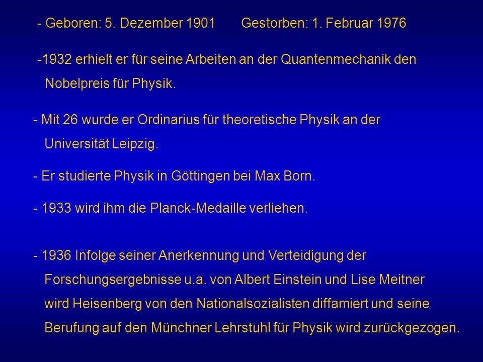 - Geboren: 5. Dezember 1901 Gestorben: 1. Februar 1976