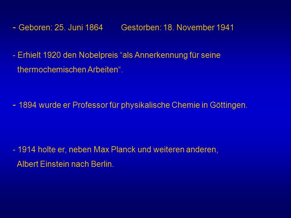 - Geboren: 25. Juni 1864 Gestorben: 18. November 1941