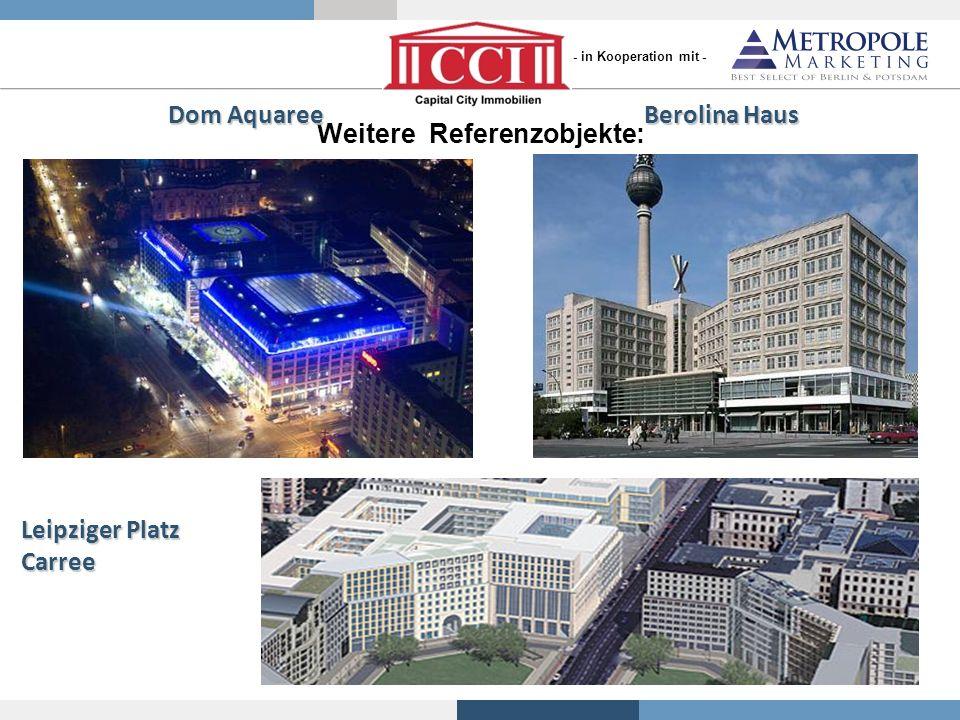 Dom Aquaree Berolina Haus Weitere Referenzobjekte: