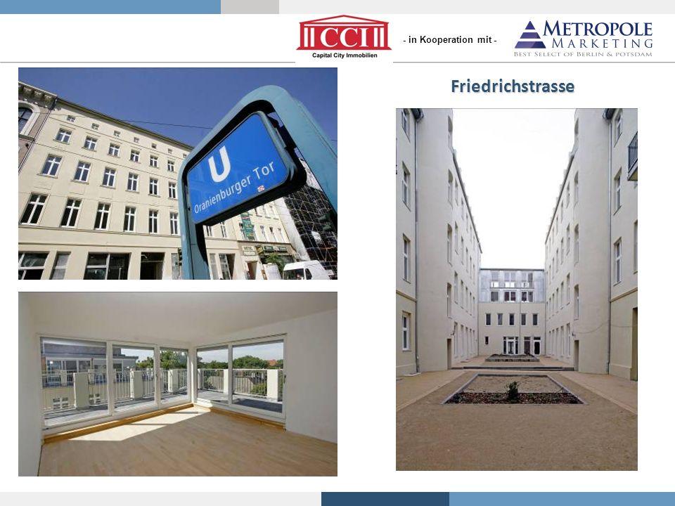 Friedrichstrasse Referenzobjekte von S+P