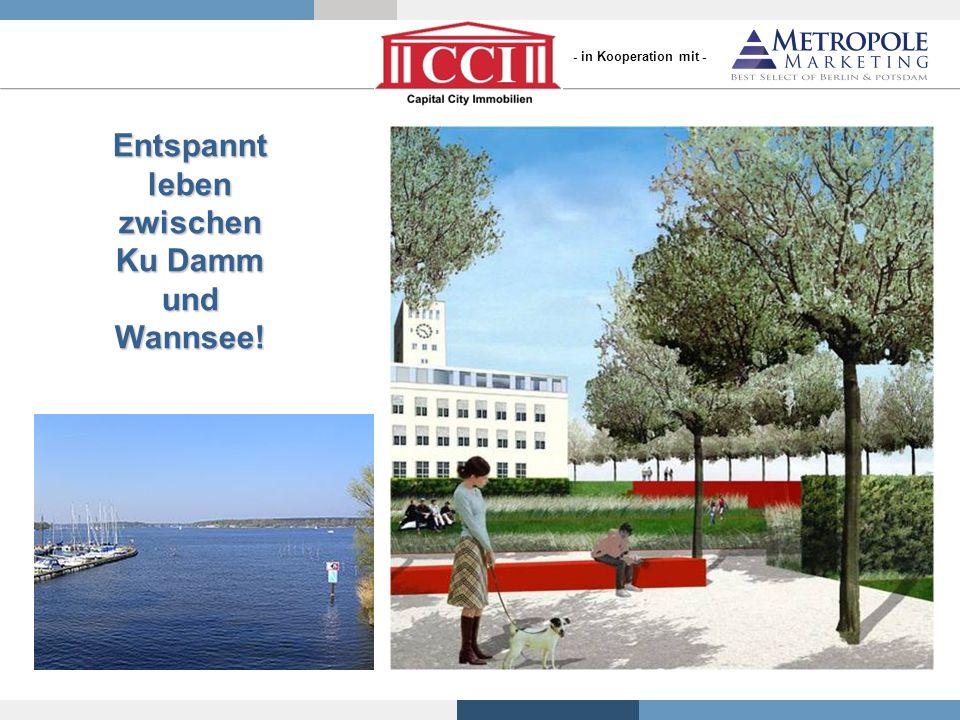 Entspannt leben zwischen Ku Damm und Wannsee!