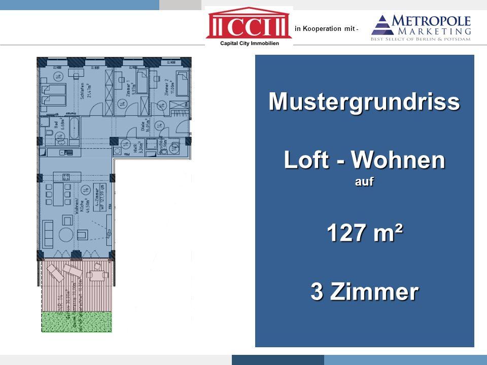 Mustergrundriss Loft - Wohnen 127 m² 3 Zimmer
