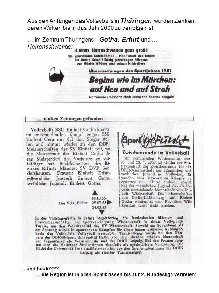 … im Zentrum Thüringens – Gotha, Erfurt und … Herrenschwende: