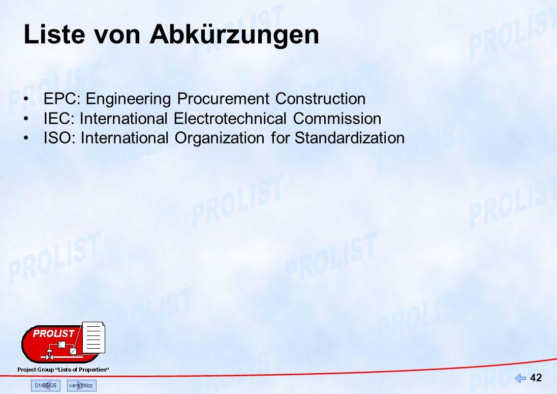 Liste von Abkürzungen EPC: Engineering Procurement Construction