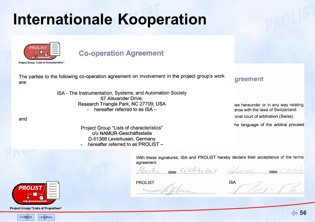 Internationale Kooperation