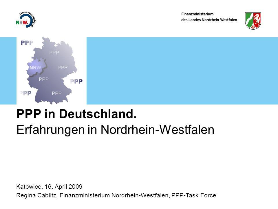 Erfahrungen in Nordrhein-Westfalen