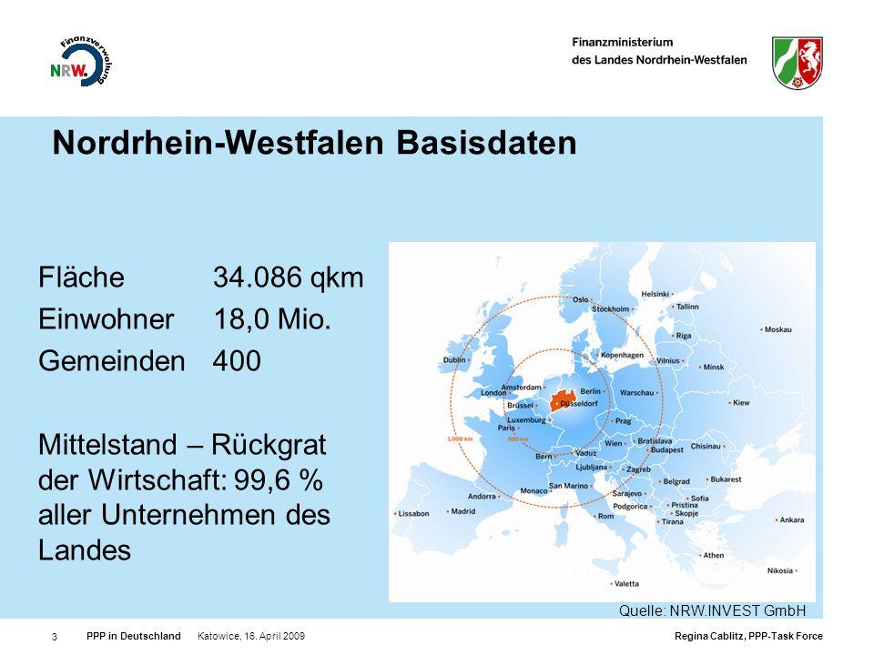 Nordrhein-Westfalen Basisdaten