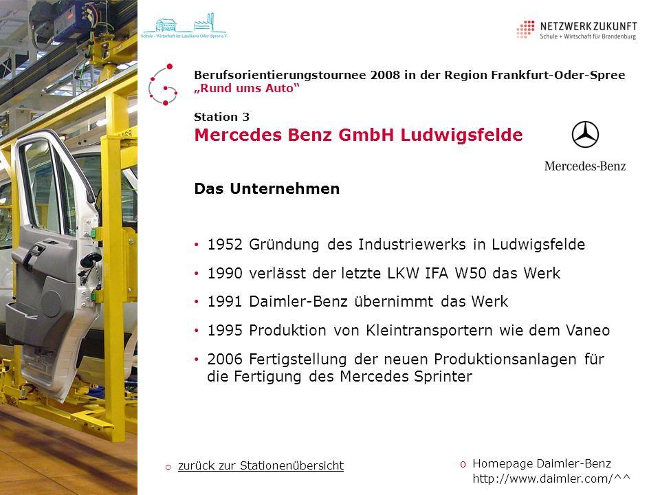 Mercedes Benz GmbH Ludwigsfelde