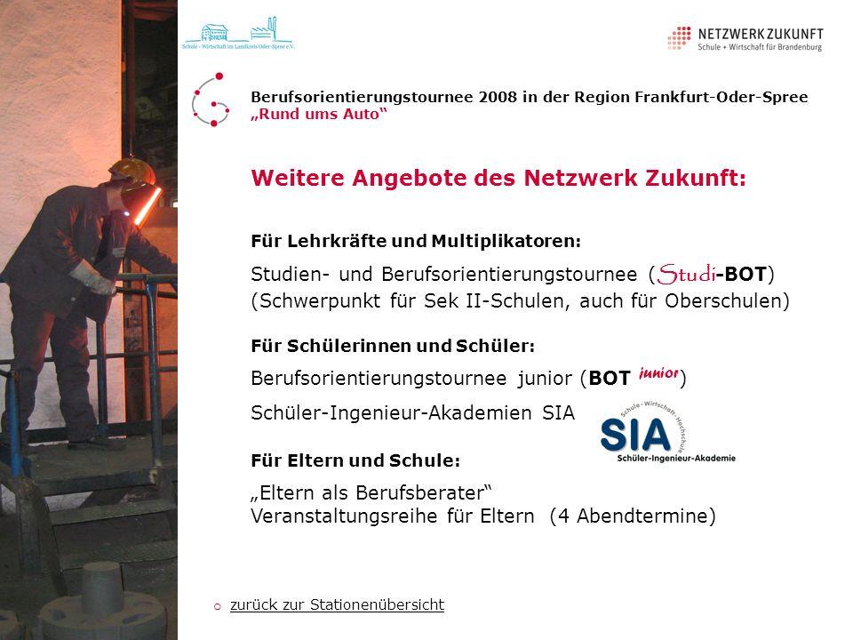 Weitere Angebote des Netzwerk Zukunft: