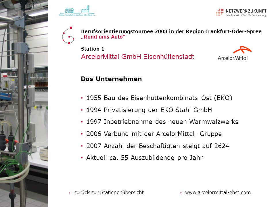 ArcelorMittal GmbH Eisenhüttenstadt