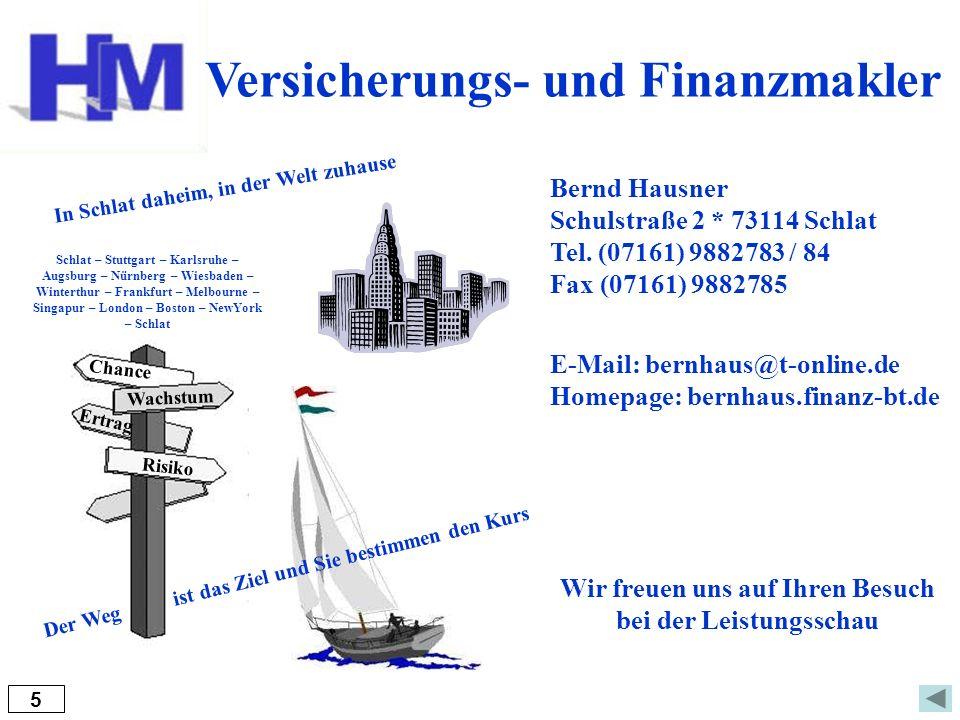 Versicherungs- und Finanzmakler