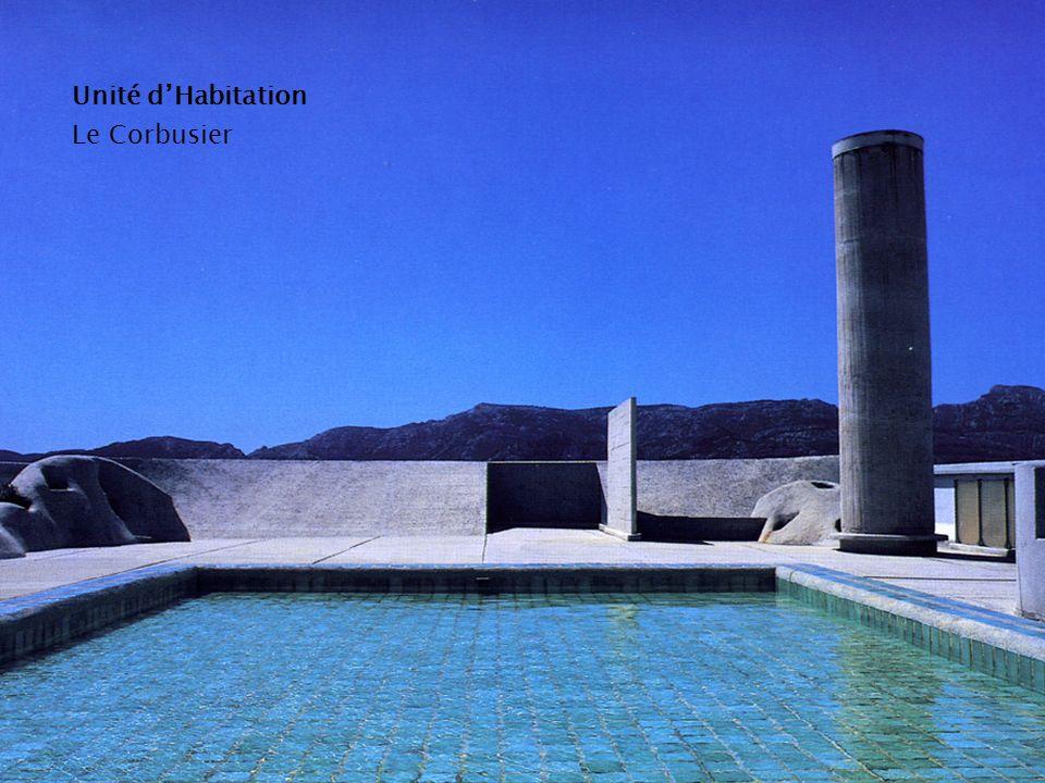 Unité d'Habitation Le Corbusier