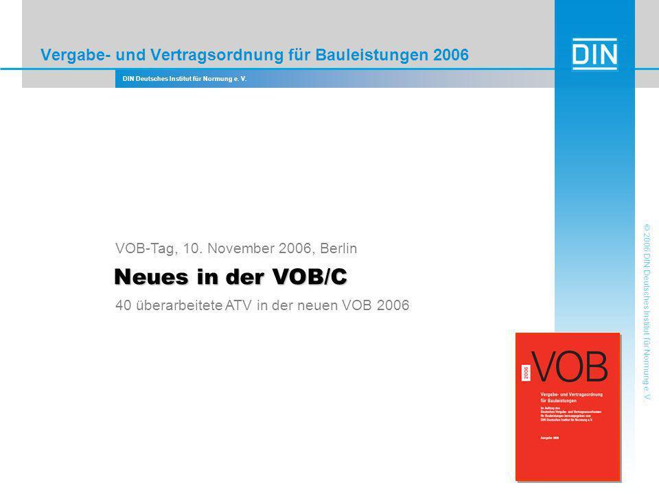 Vergabe- und Vertragsordnung für Bauleistungen 2006