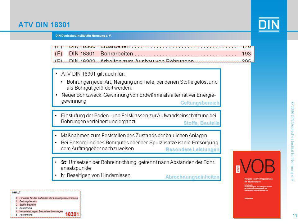 ATV DIN 18301 ATV DIN 18301 gilt auch für: