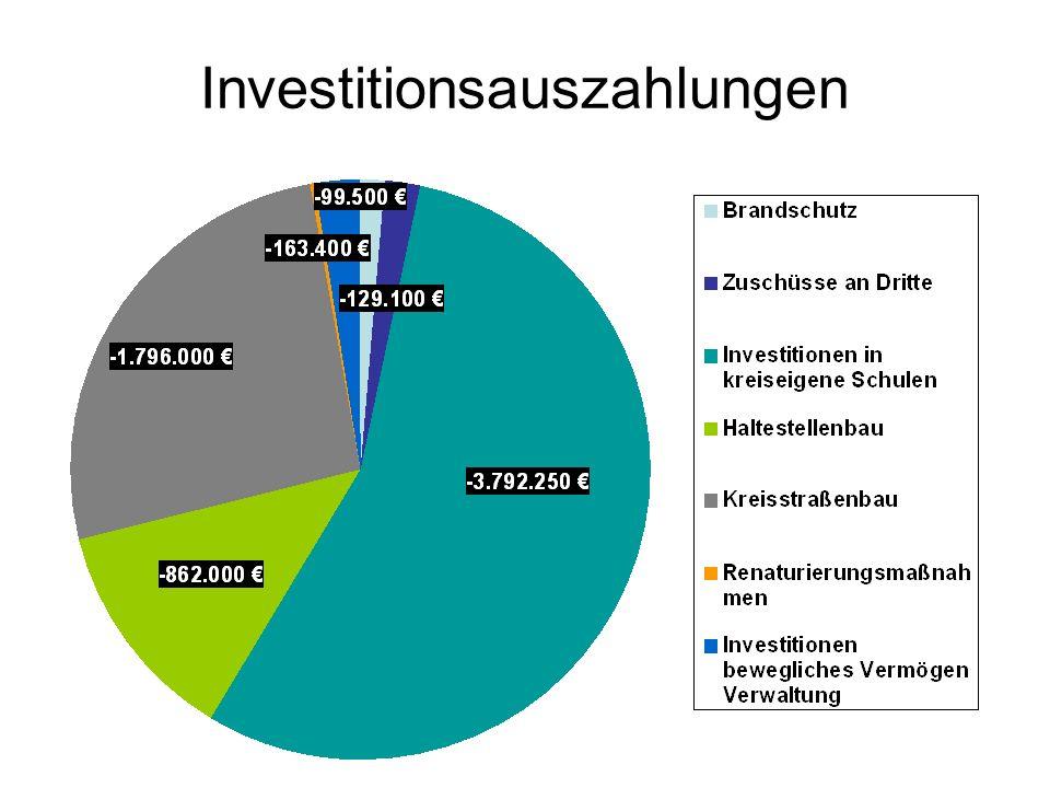 Investitionsauszahlungen