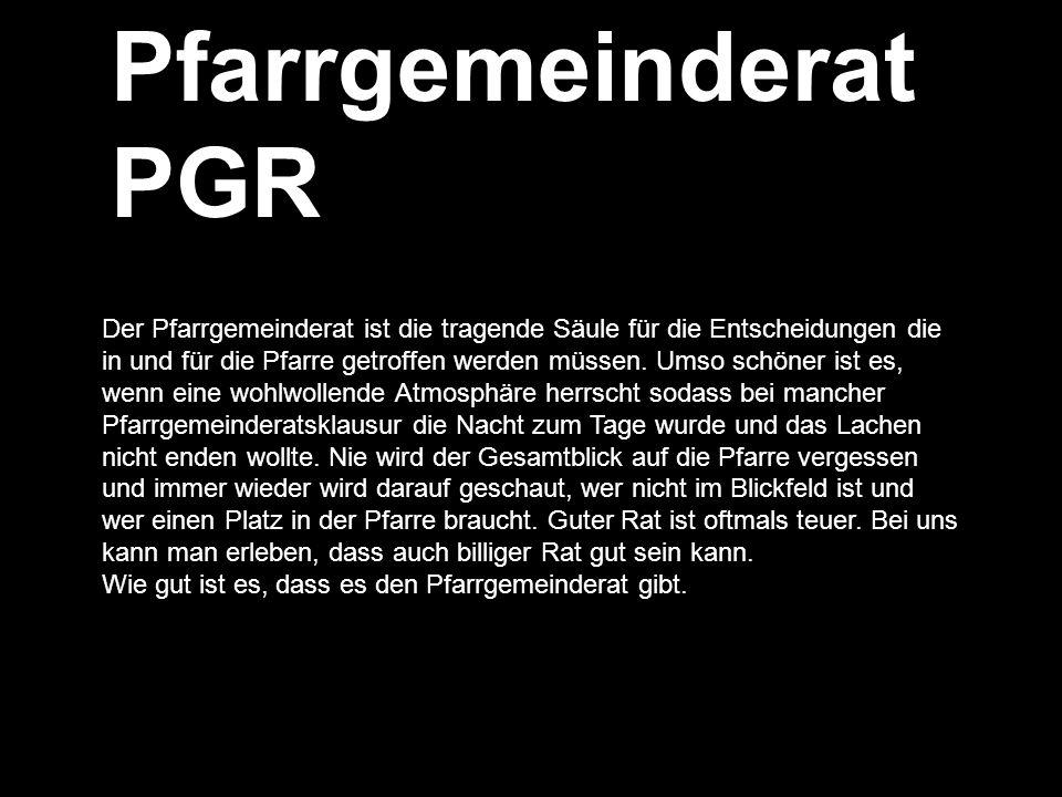 Pfarrgemeinderat PGR