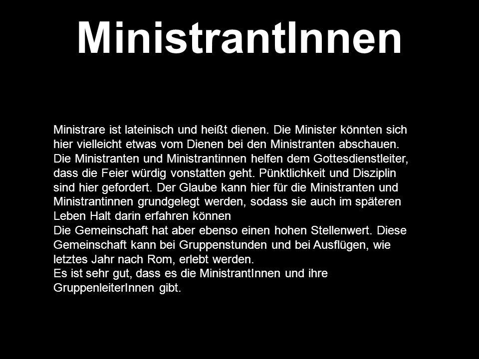MinistrantInnen