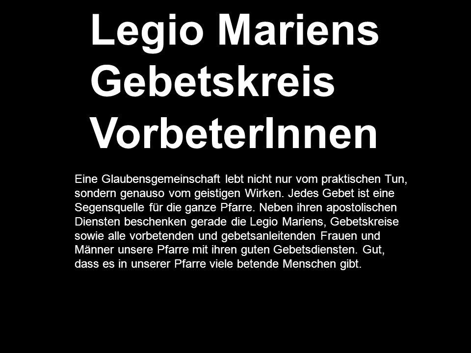 Legio Mariens Gebetskreis VorbeterInnen
