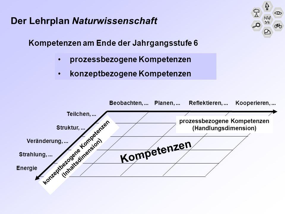 Kompetenzen Der Lehrplan Naturwissenschaft