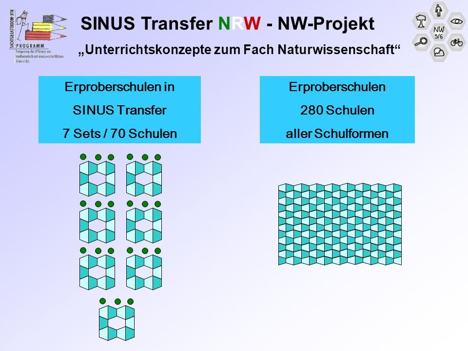 SINUS Transfer NRW - NW-Projekt
