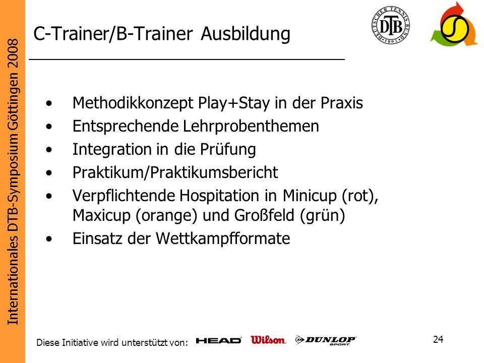 C-Trainer/B-Trainer Ausbildung