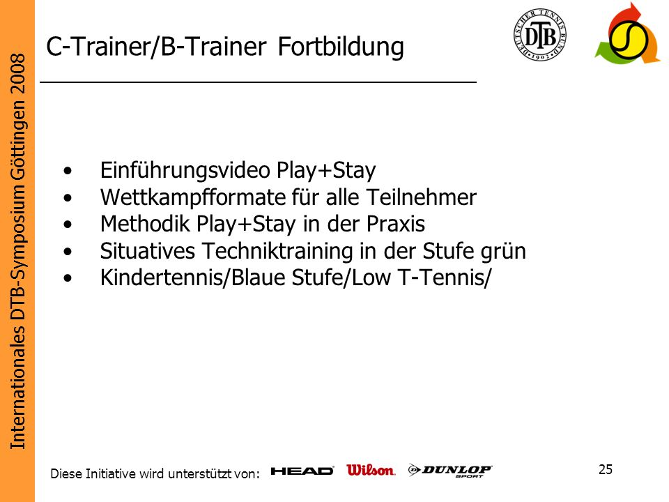 C-Trainer/B-Trainer Fortbildung