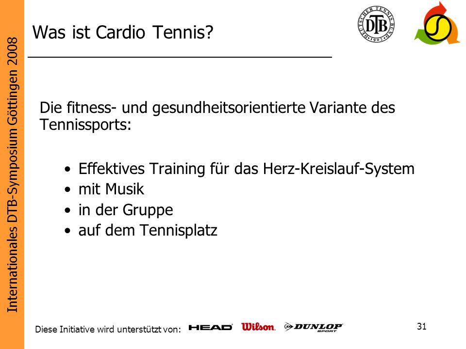 Was ist Cardio Tennis Die fitness- und gesundheitsorientierte Variante des Tennissports: Effektives Training für das Herz-Kreislauf-System.