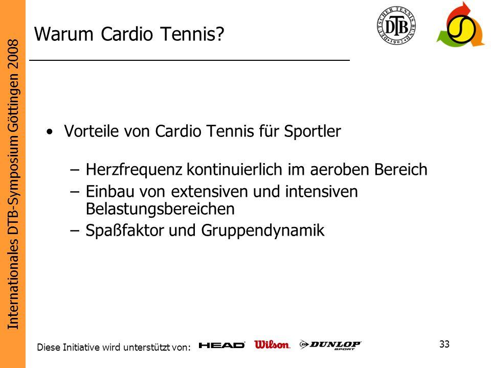 Warum Cardio Tennis Vorteile von Cardio Tennis für Sportler