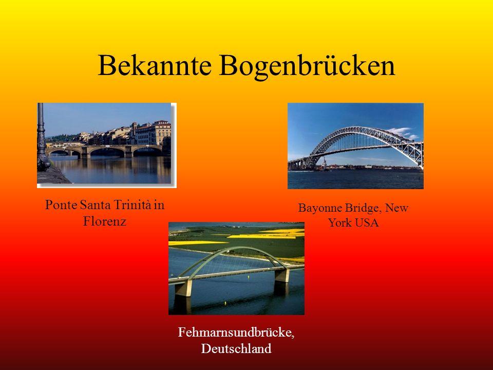 Bekannte Bogenbrücken