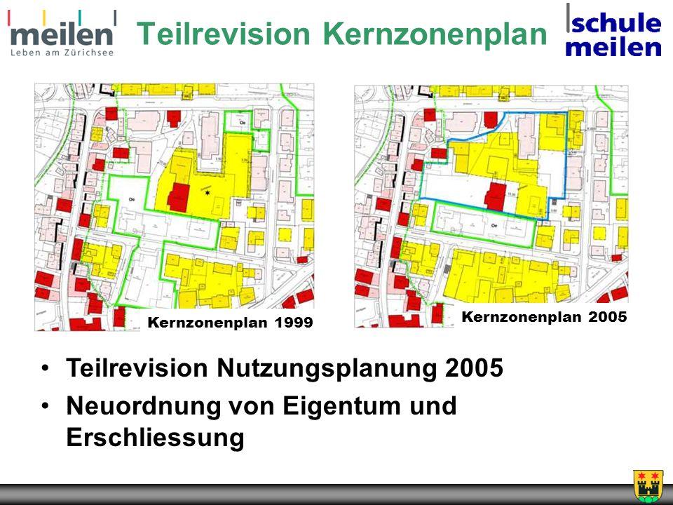 Teilrevision Kernzonenplan