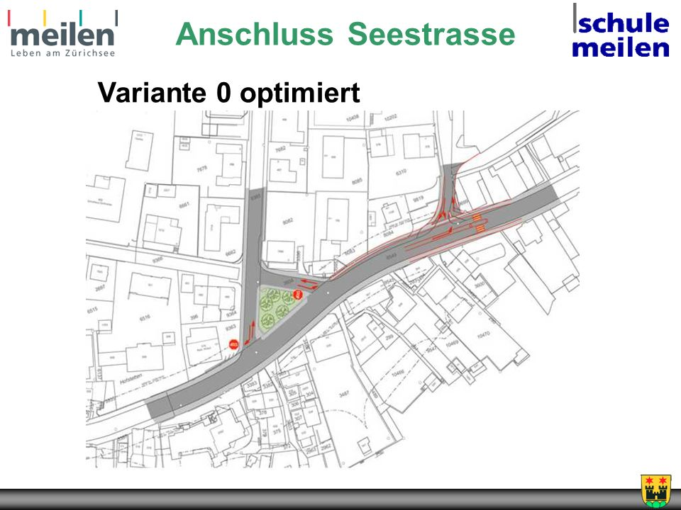 Anschluss Seestrasse Variante 0 optimiert
