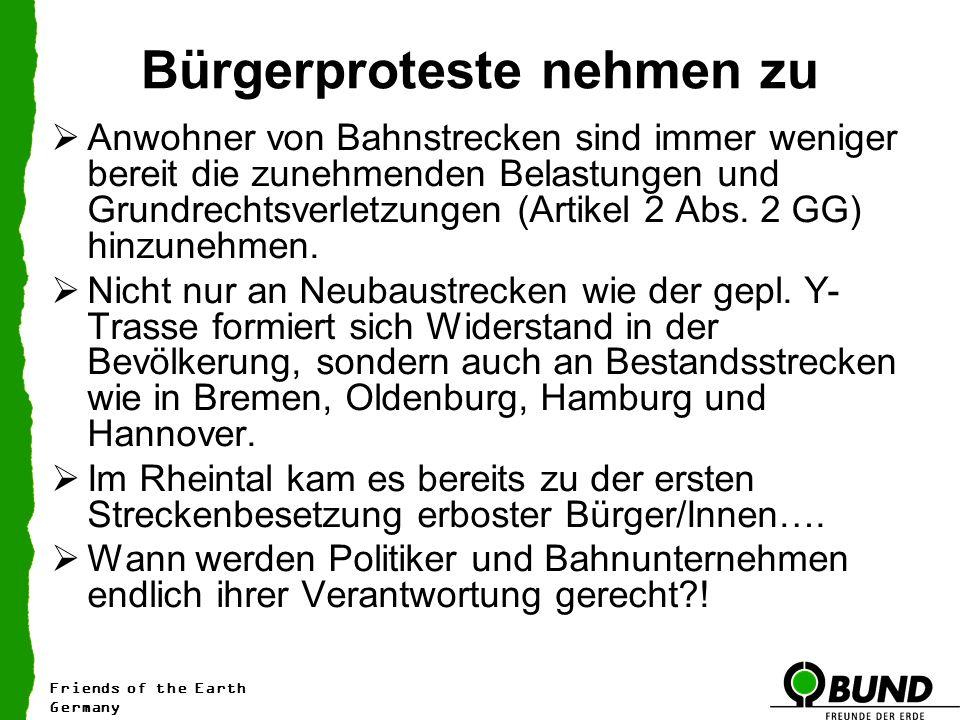 Bürgerproteste nehmen zu