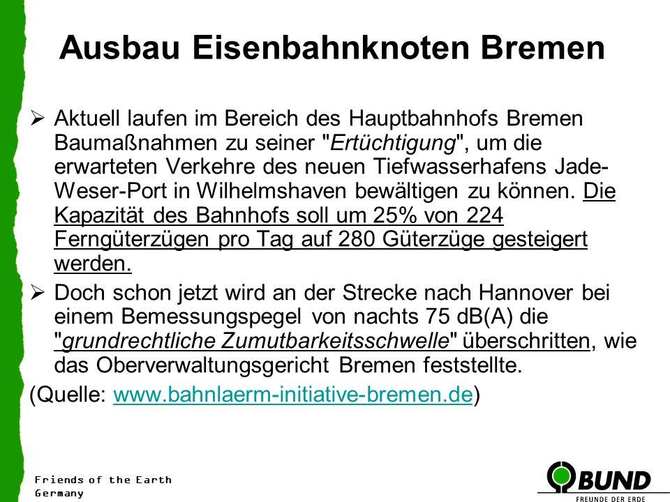 Ausbau Eisenbahnknoten Bremen
