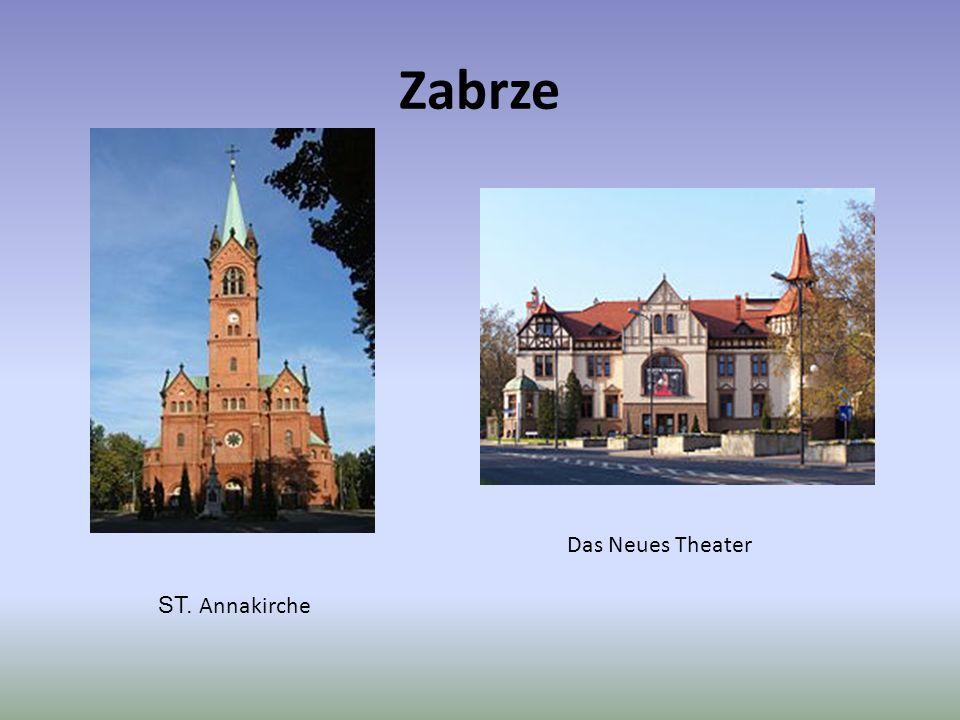 Zabrze Das Neues Theater ST. Annakirche