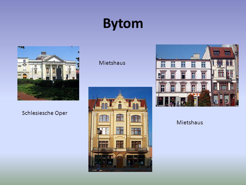 Bytom Mietshaus Schlesiesche Oper Mietshaus