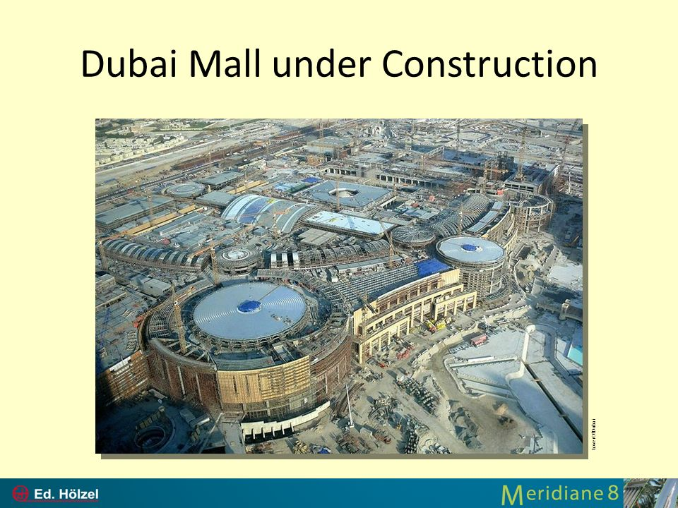 Dubai Mall under Construction