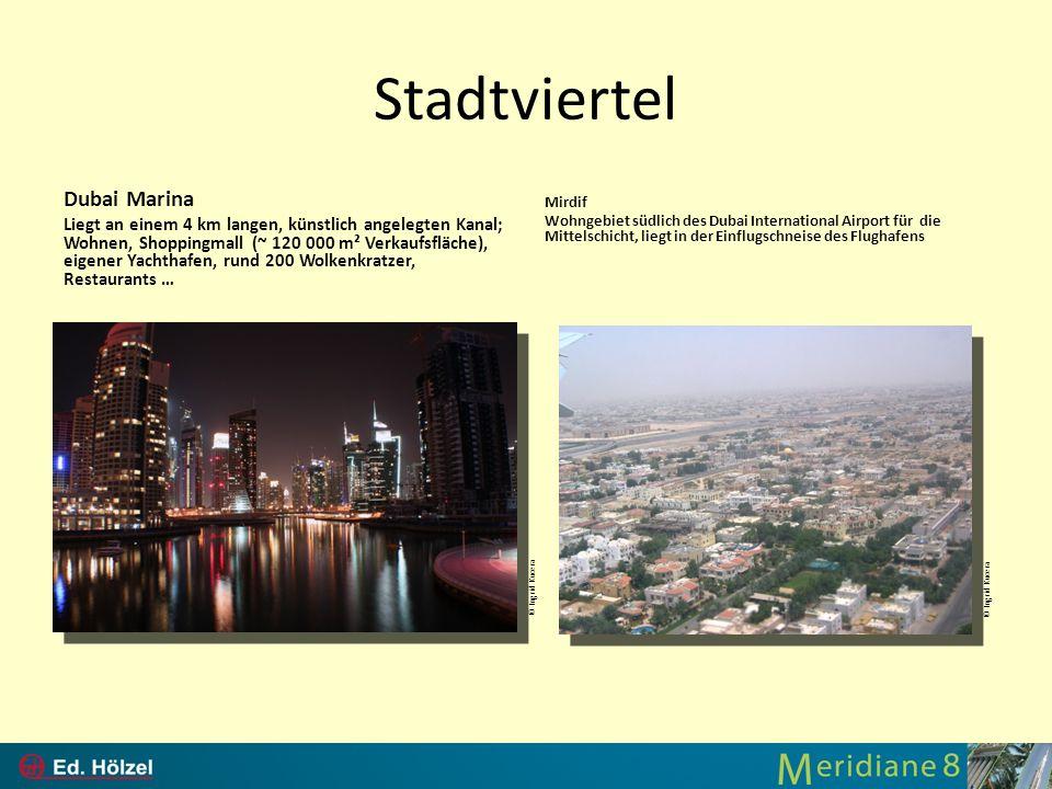 Stadtviertel Dubai Marina