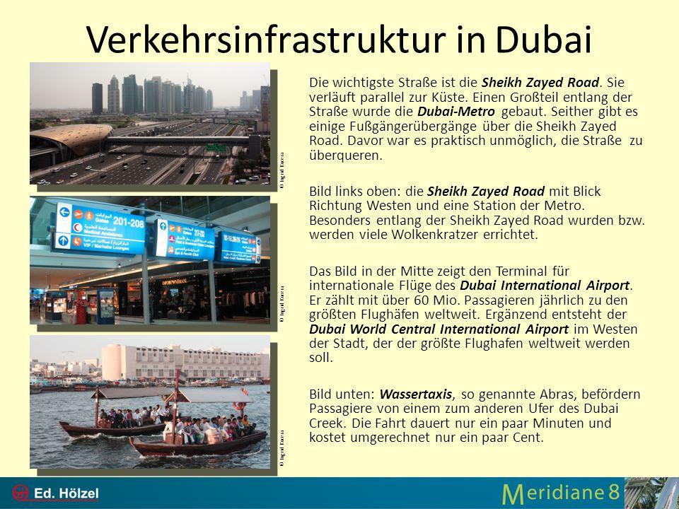 Verkehrsinfrastruktur in Dubai