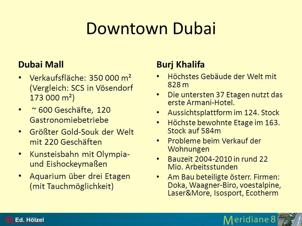 Downtown Dubai Dubai Mall Burj Khalifa