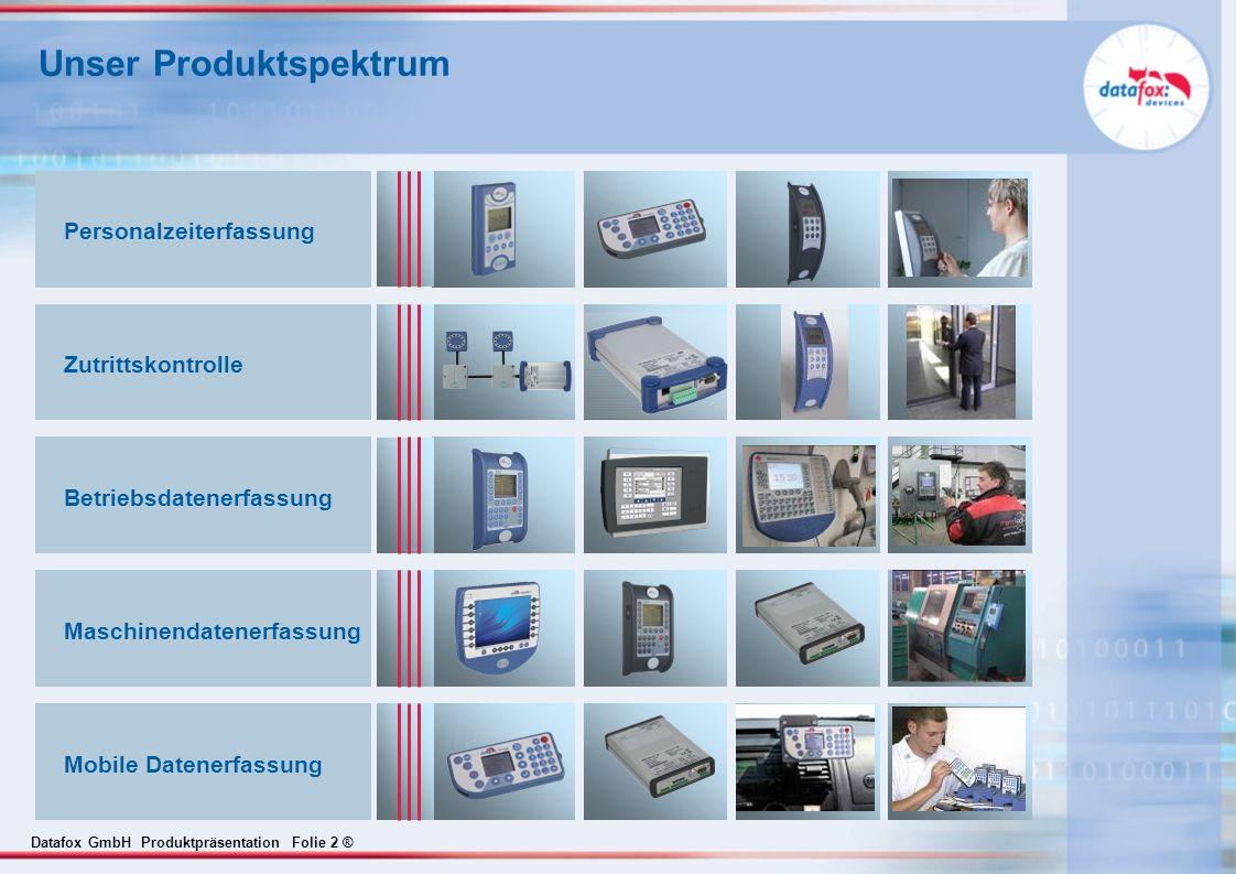 Unser Produktspektrum