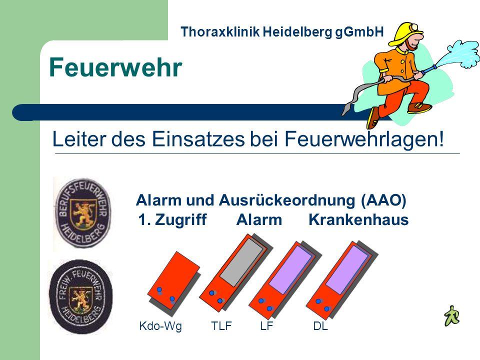Feuerwehr Leiter des Einsatzes bei Feuerwehrlagen!