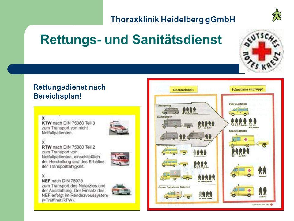 Rettungs- und Sanitätsdienst