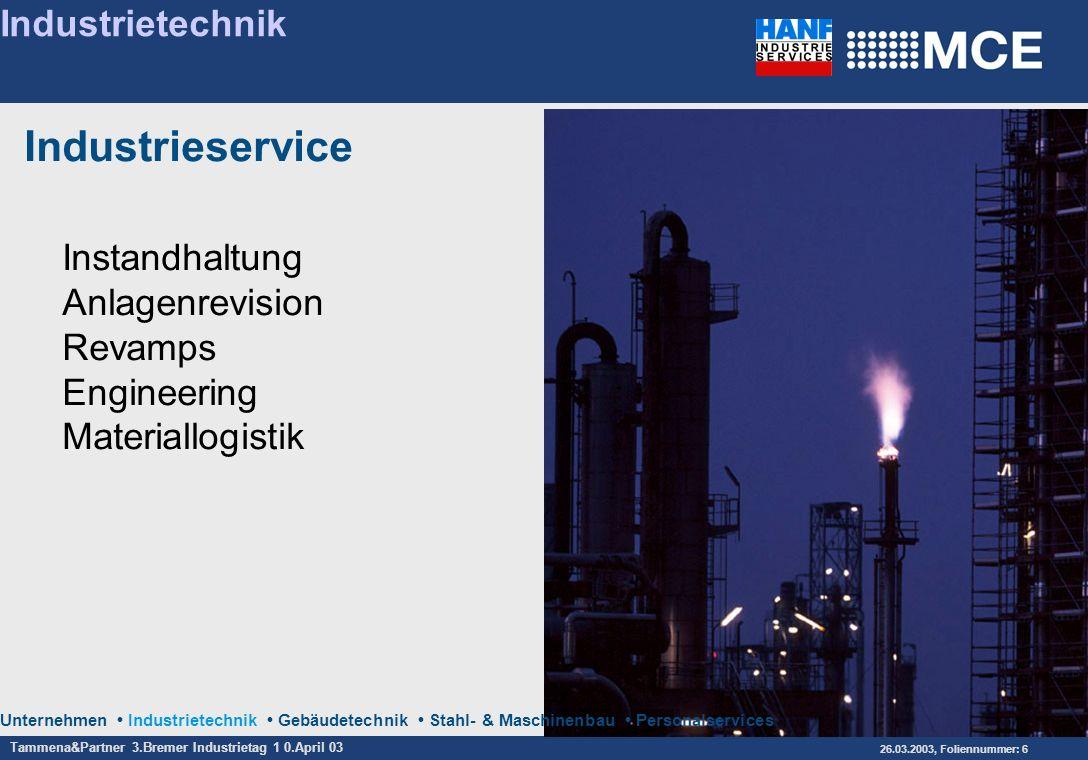 Industrieservice Industrietechnik