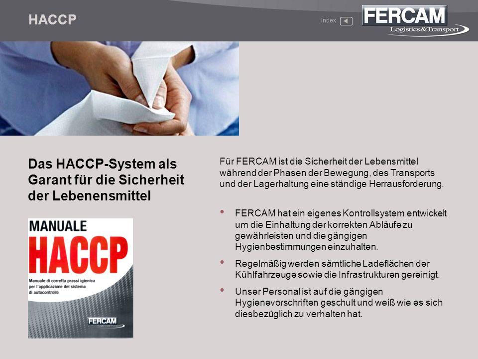 Das HACCP-System als Garant für die Sicherheit der Lebenensmittel