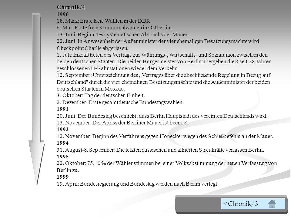 <Chronik/3 Chronik/4 1990 18. März: Erste freie Wahlen in der DDR.