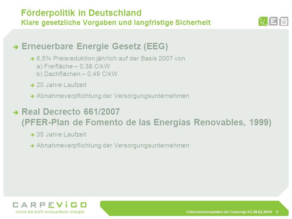 Erneuerbare Energie Gesetz (EEG)