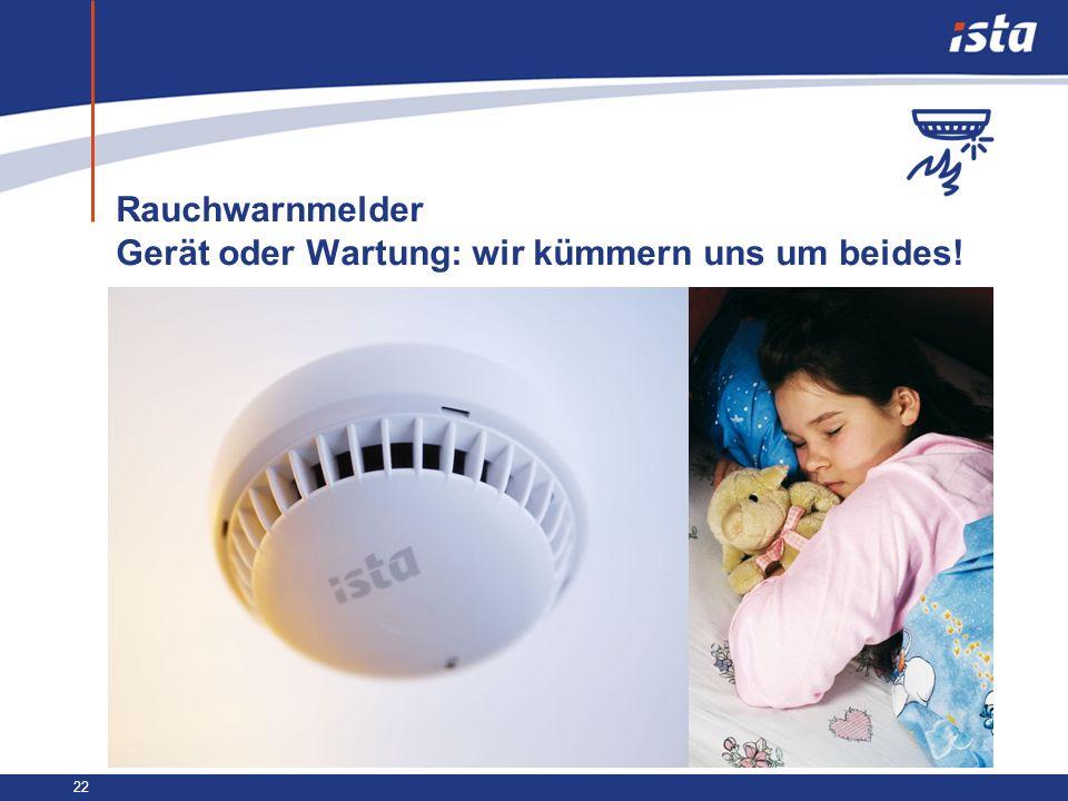 Rauchwarnmelder Gerät oder Wartung: wir kümmern uns um beides!